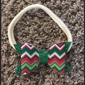Christmas headband bow